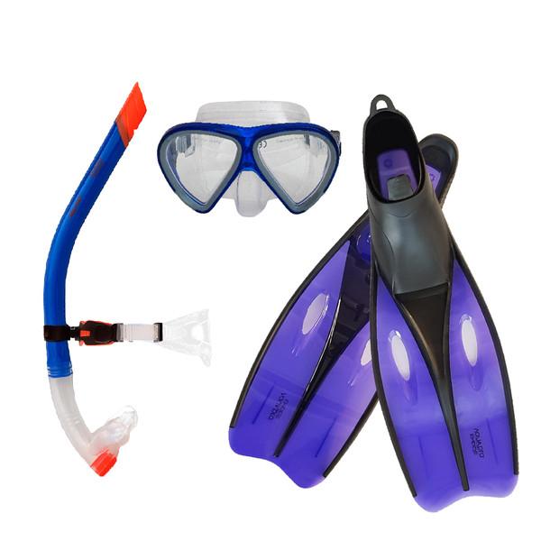 عینک و اسنورکل و فین غواصی آکوا پرو مدل 584244