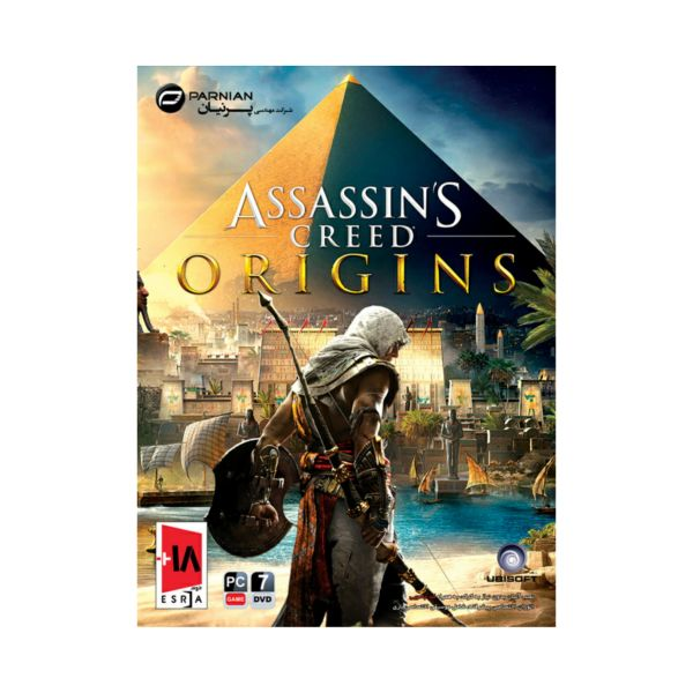 بازی assassins creed origins مخصوص pc نشر پرنیان