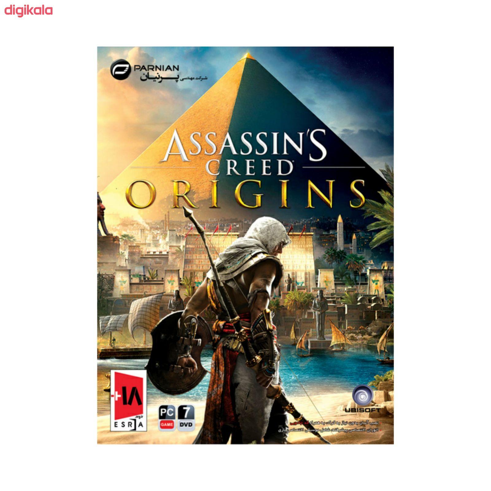بازی assassins creed origins مخصوص pc نشر پرنیان main 1 1