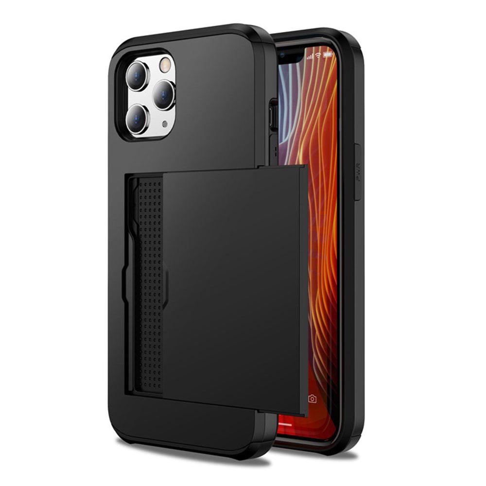 خرید اینترنتی [با تخفیف] کاور جیتک مدل Wallet Armor مناسب برای گوشی موبایل اپل iPhone 12 Pro Max اورجینال