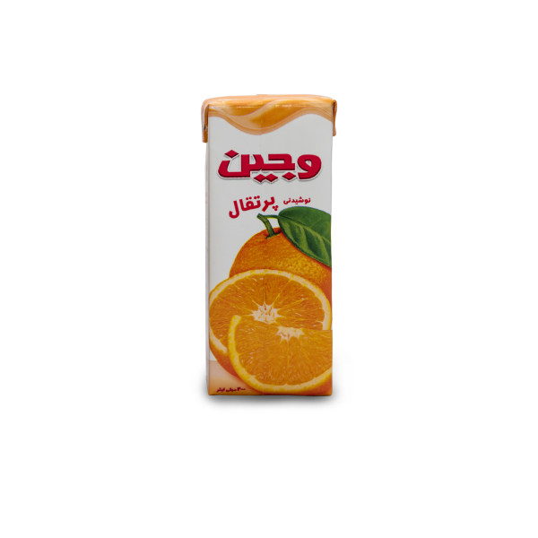 آبمیوه پرتقال وجین - 200 میلی لیتر
