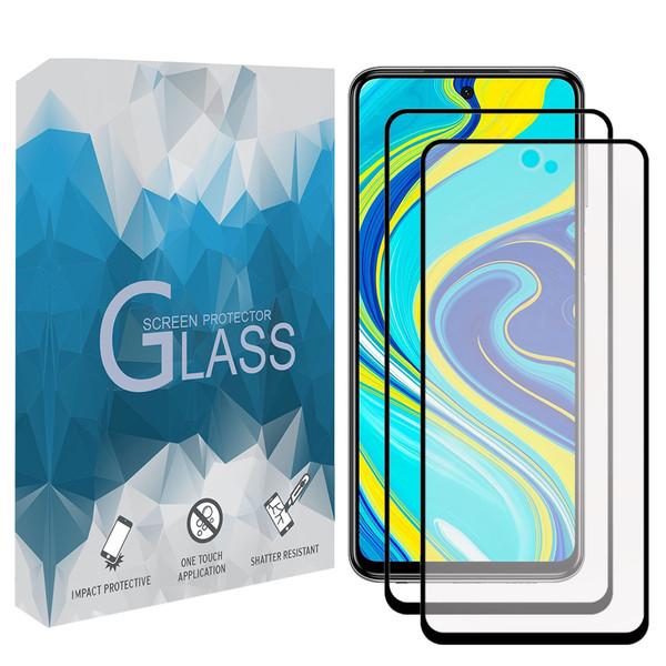 محافظ صفحه نمايش مدل FMATP مناسب برای گوشی موبايل شیائومی Redmi Note 9S / Note 9 Pro مجموعه دو عددی