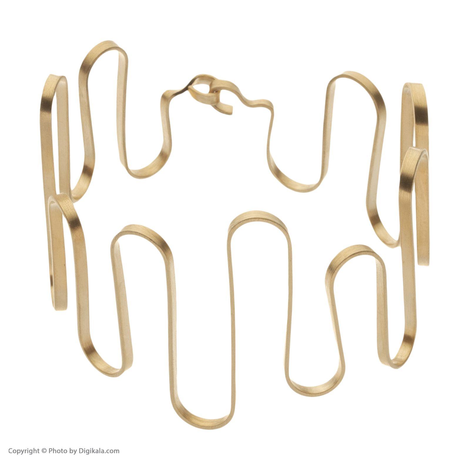 دستبند طلا زنانه سنجاق مدل x089886 -  - 3