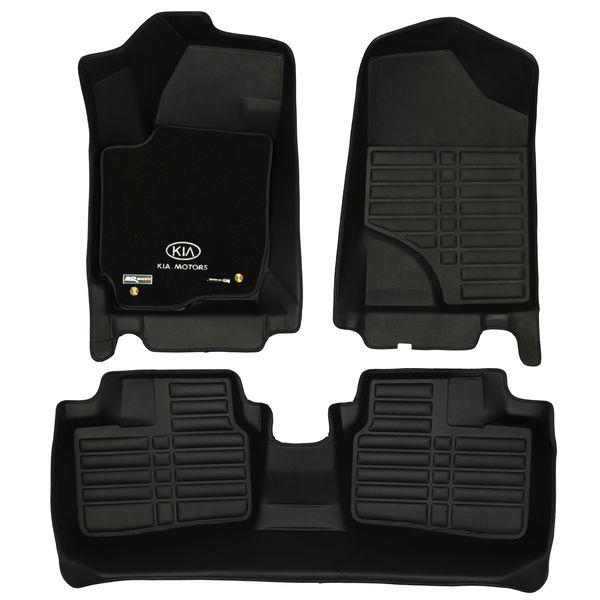 کفپوش سه بعدی خودرو تری دی مکس اچ اف کی مدل موکت دار مناسب برای کیا سراتو