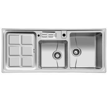 سینک ظرفشویی اخوان مدل 360 توکار