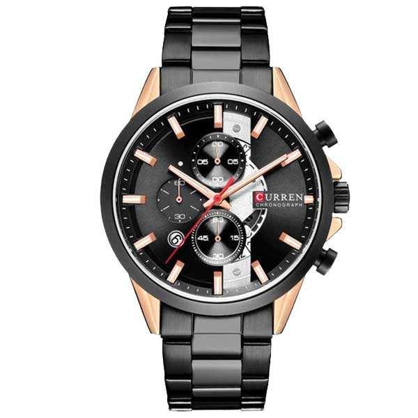 ساعت مچی عقربهای مردانه کورن واتچ مدل 1202 B