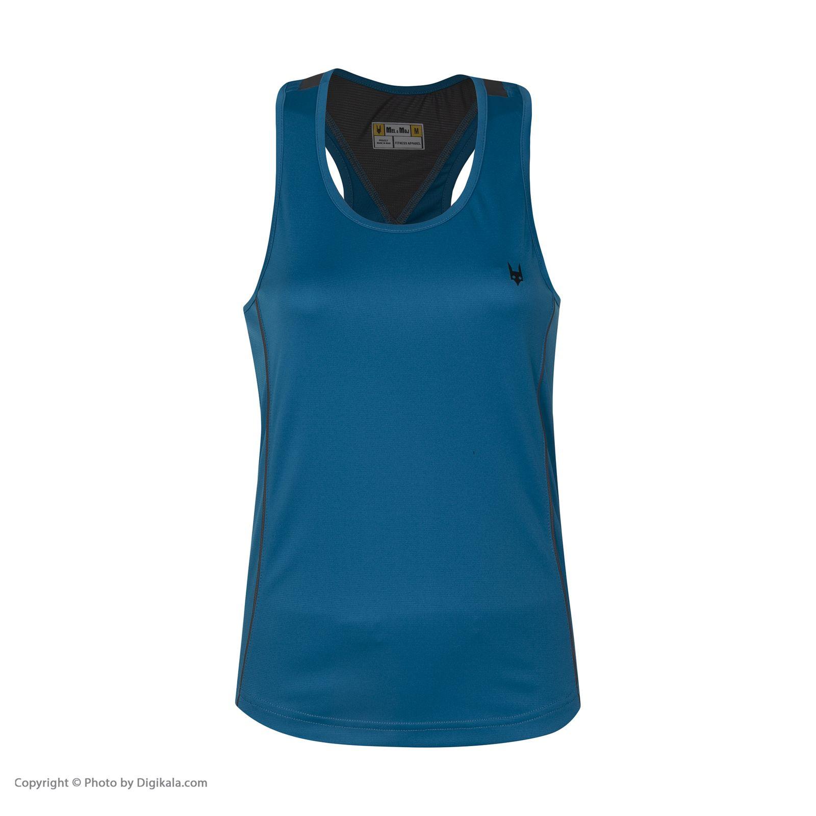 تاپ ورزشی زنانه مل اند موژ مدل W06339-410 -  - 3