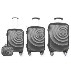 مجموعه چهار عددی چمدان مدل 236910