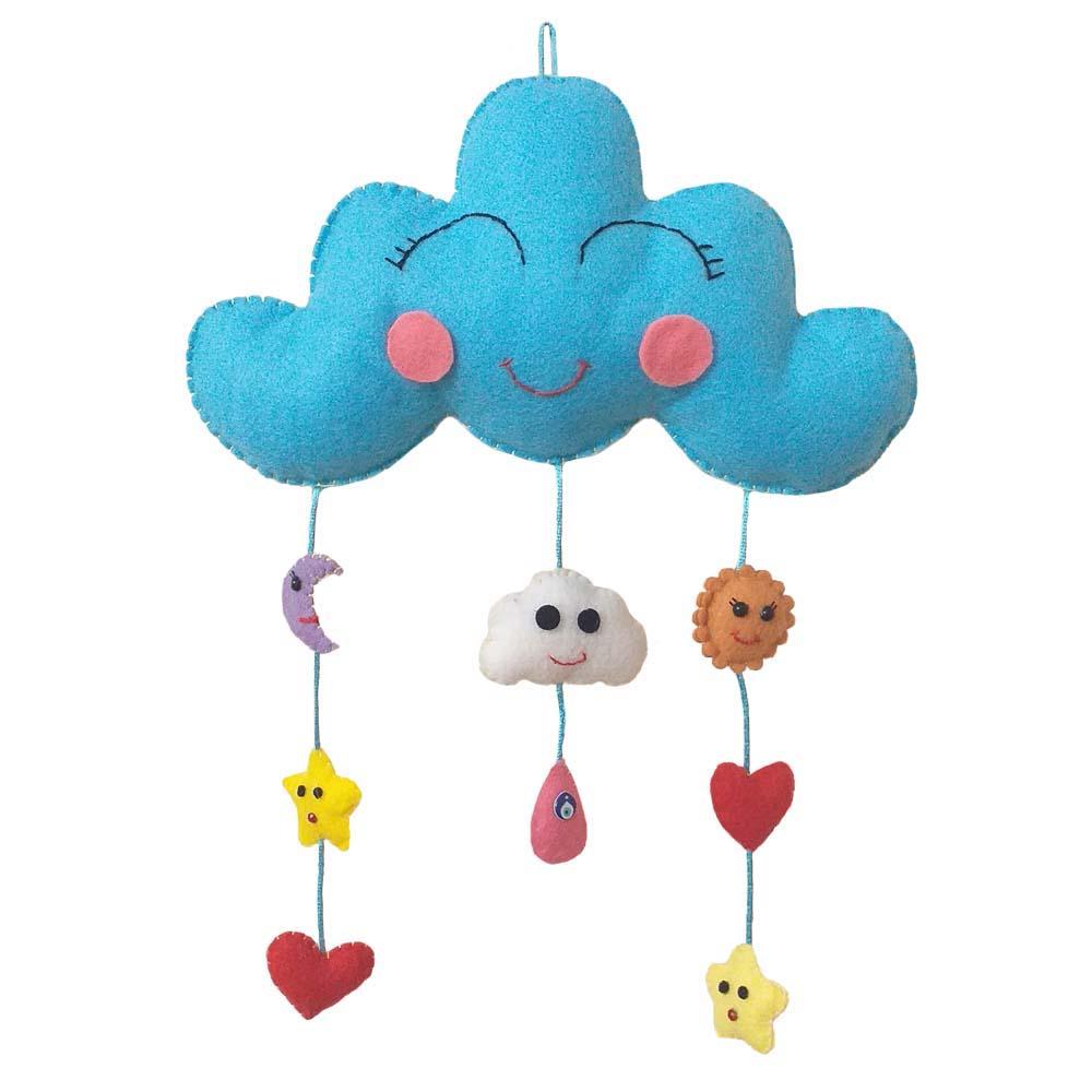 آویز تخت کودک مدل آسمان
