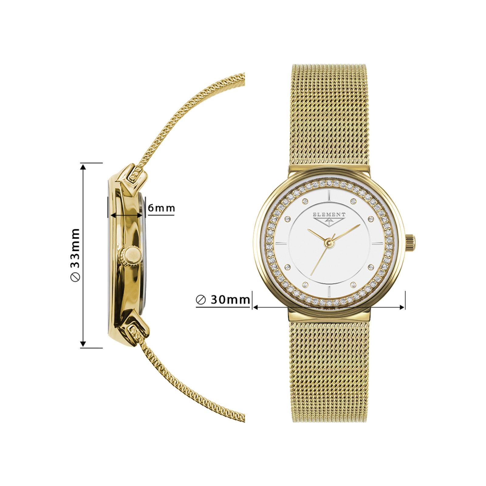 خرید و قیمت                      ساعت مچی  زنانه 33 المنت مدل 331420