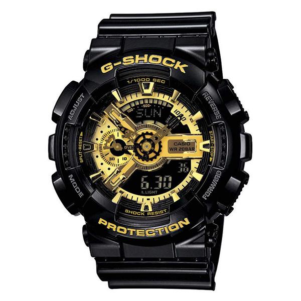 ساعت مچی عقربه ای مردانه کاسیو مدل جی شاک کد GA-110GB-1              👙
