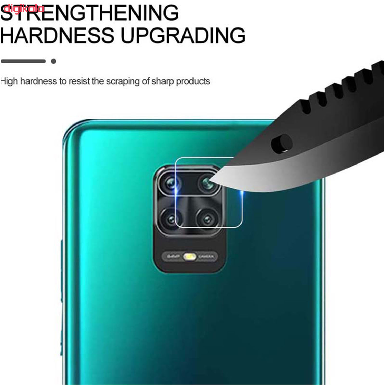 محافظ صفحه نمایش و پشت گوشی مدل RA-08 مناسب برای گوشی موبایل شیائومی Redmi note 9s/9 pro/pro max به همراه محافظ لنز دوربین main 1 4