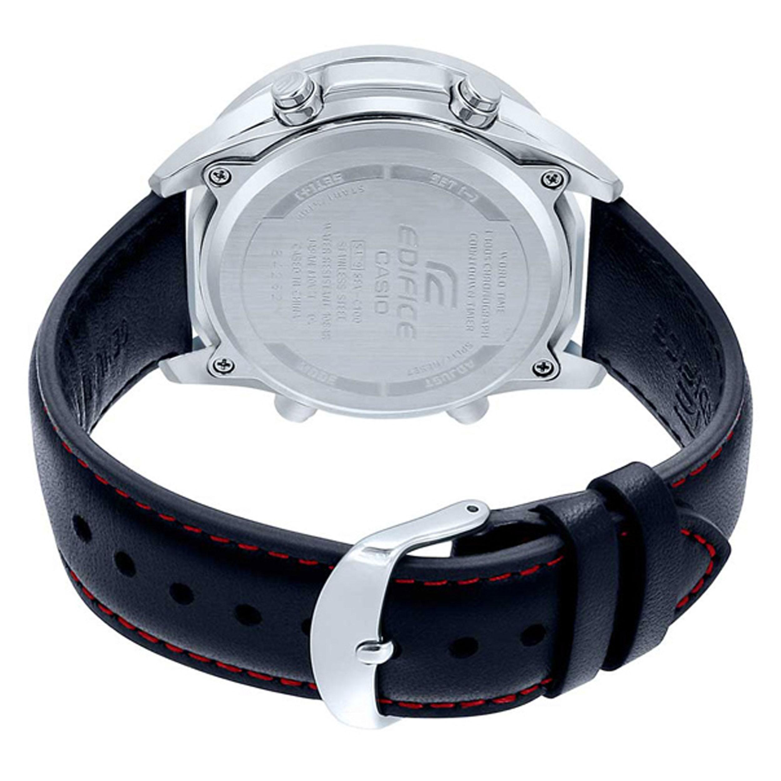 ساعت مچی عقربهای مردانه کاسیو مدل EFV-C100L-1A