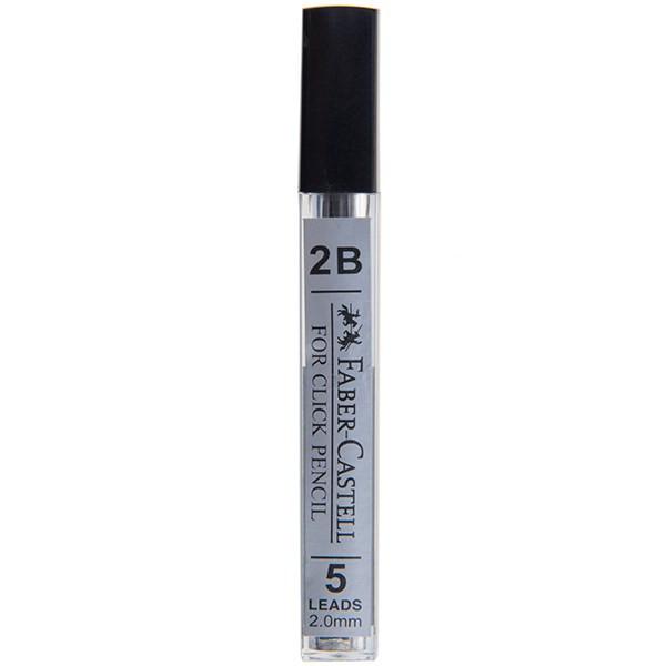 نوک مداد Faber2 mmstell مدل 2B با قطر نوشتار 2 میلی متر