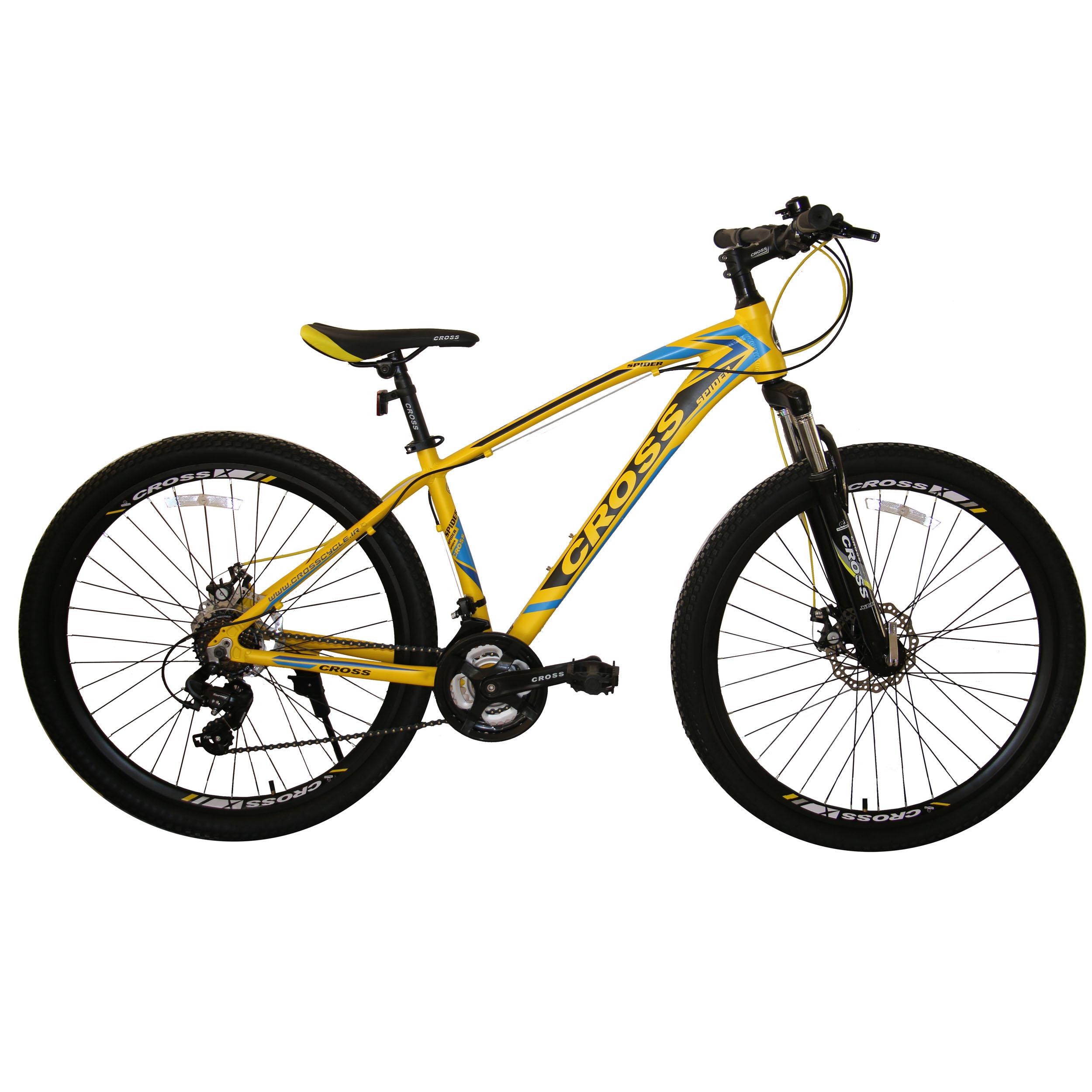 دوچرخه کوهستان کراس مدل Spider سایز 26