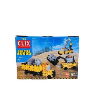 ساختنی کلیکس مدل ماشین سنگین کد 52522