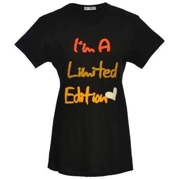 تی شرت زنانه مدل LIMITED رنگ مشکی