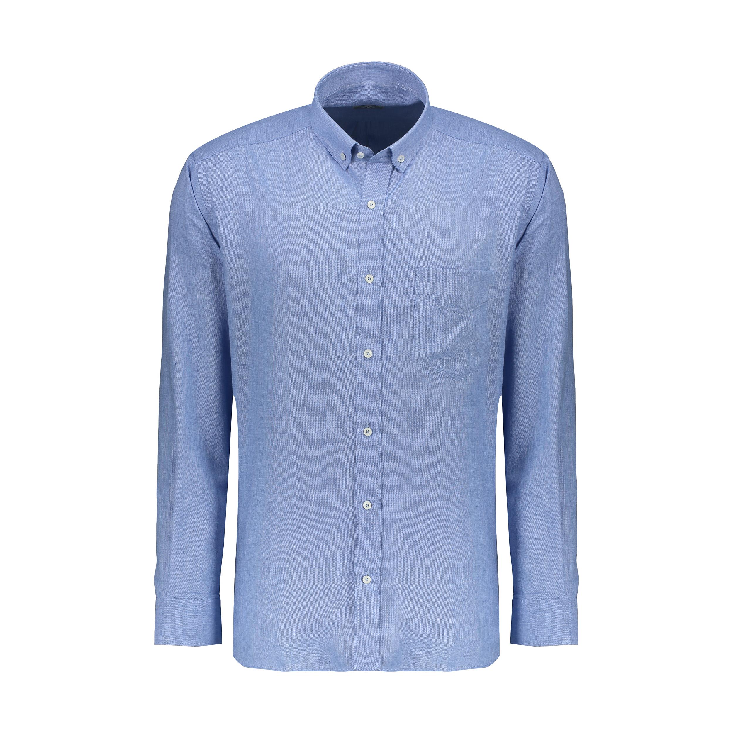 پیراهن آستین بلند مردانه زی مدل 153140558