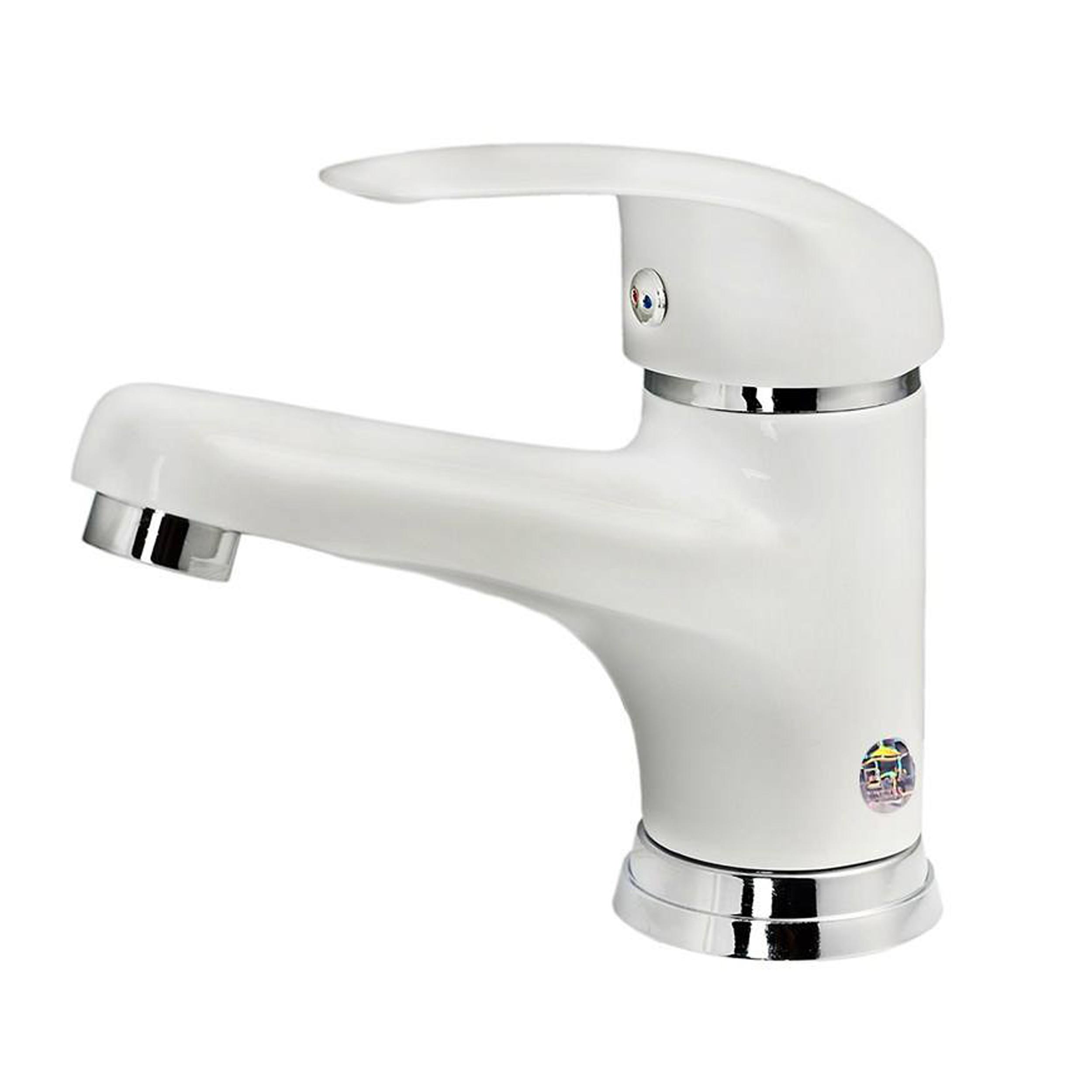 قیمت                                       شیر روشویی تکشیران مدل اردکی white