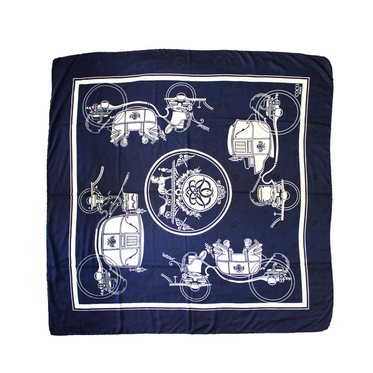 روسری زنانه کوکو طرح درشکه کد 3952 -  - 6