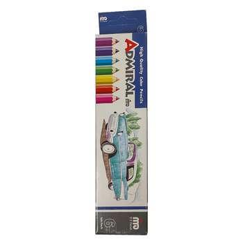 مداد رنگی 6 رنگ ادمیرال کد 16