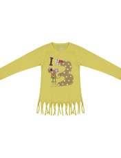 تی شرت دخترانه سون پون مدل 1391350-19 -  - 1