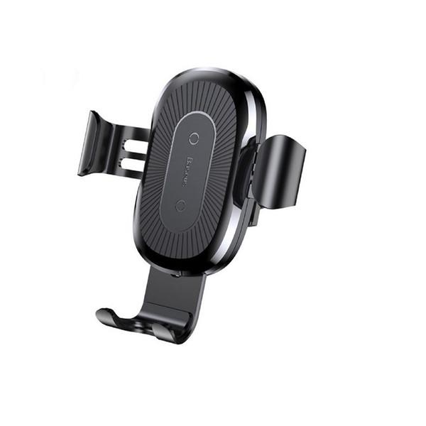 پایه نگه دارنده گوشی و وایرلس شارژر  موبایل باسئوس مدلWireless Charger Gravity Car Moment