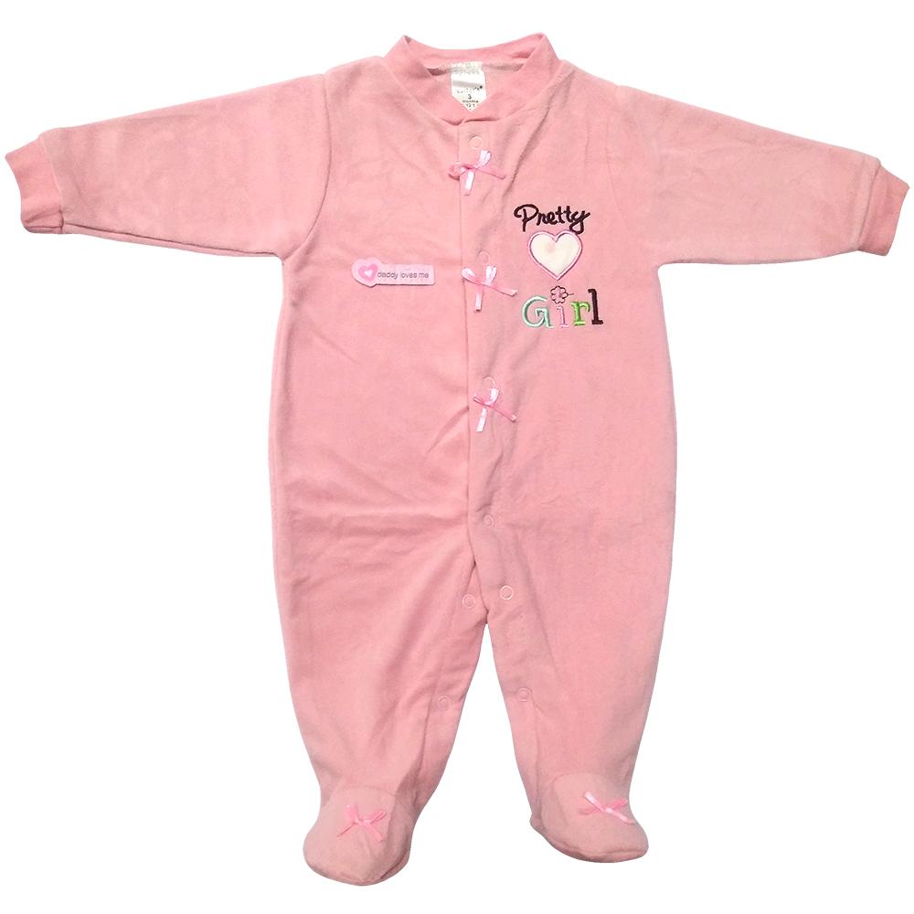 سرهمی نوزادی دخترانه کارترز طرح Pretty Girl کد M354