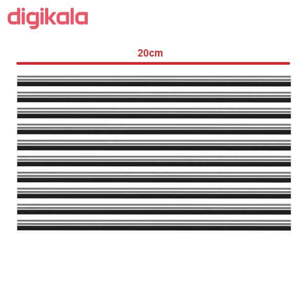 نوار تزئینی دریچه کولر مدل daSi بسته 10 عددی main 1 4