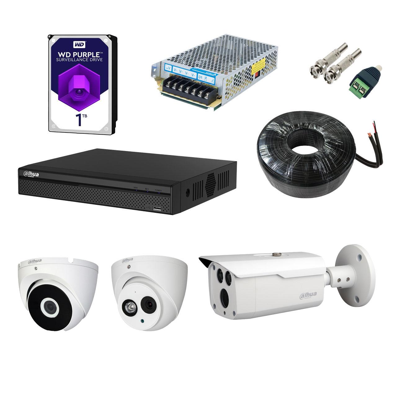 بررسی و خرید [با تخفیف]                                     سیستم امنیتی داهوا مدل DP32S2111-N                             اورجینال
