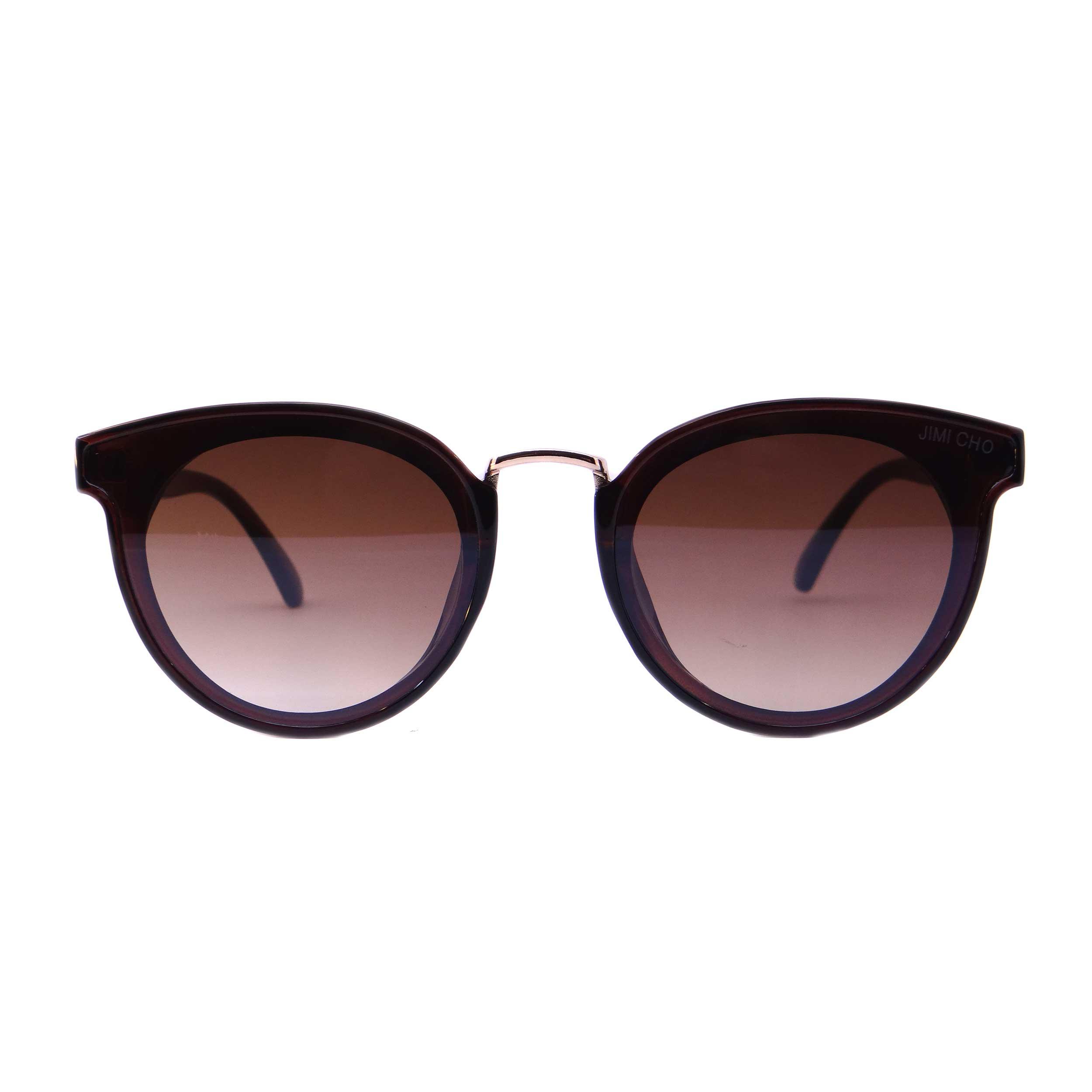 عینک آفتابی زنانه جیمی چو مدل 9933 رنگ قهوه ای