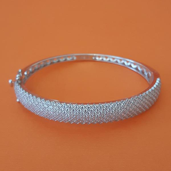 دستبند نقره زنانه مدل AMT_D023