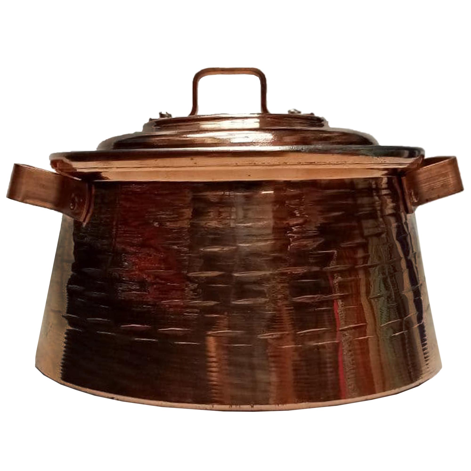 Copper pan, Model M25