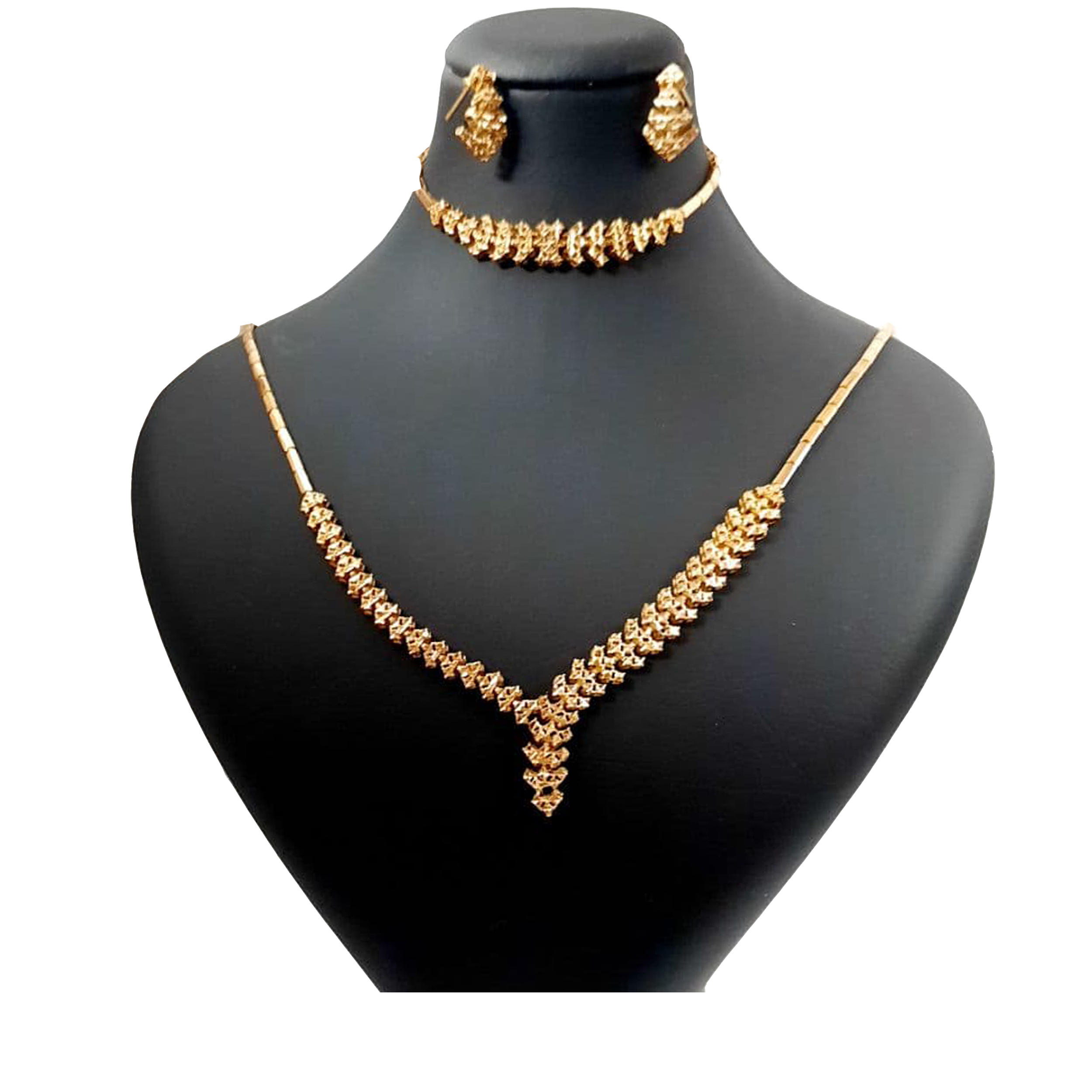 نیم ست طلا 18 عیار زنانه  گالری یارطلا کد SR22-G
