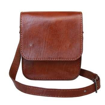 کیف رو دوشی چرم شل دیزاین کد SHD004