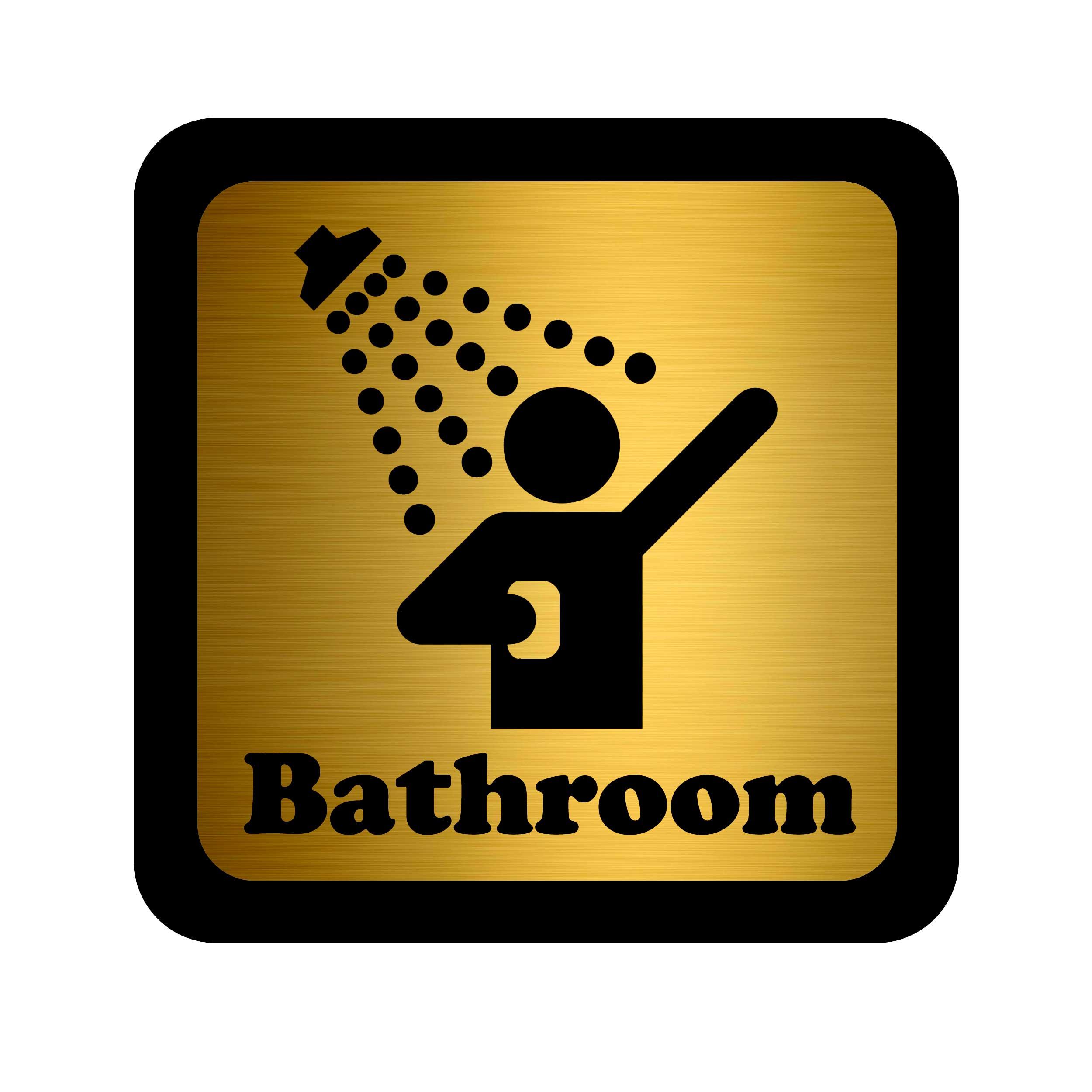 تابلو هشدار طرح دوش حمام کدN.D.01