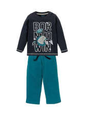 ست تی شرت و شلوار پسرانه لوپیلو کد 307098 -  - 1