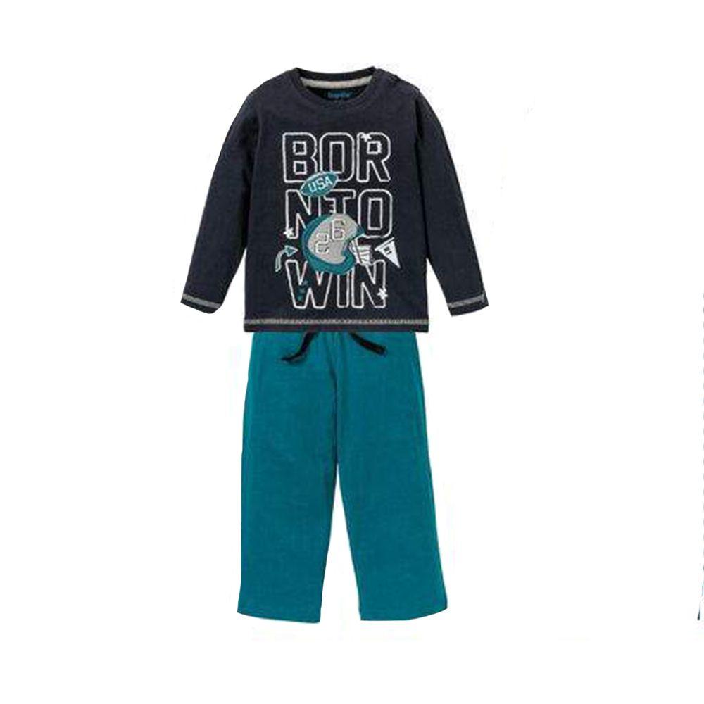 ست تی شرت و شلوار پسرانه لوپیلو کد 307098 -  - 3