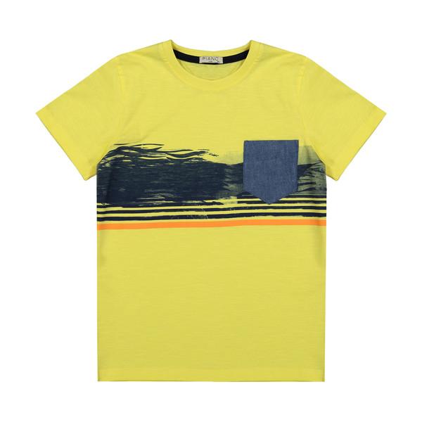 تی شرت پسرانه پیانو مدل 01530-16