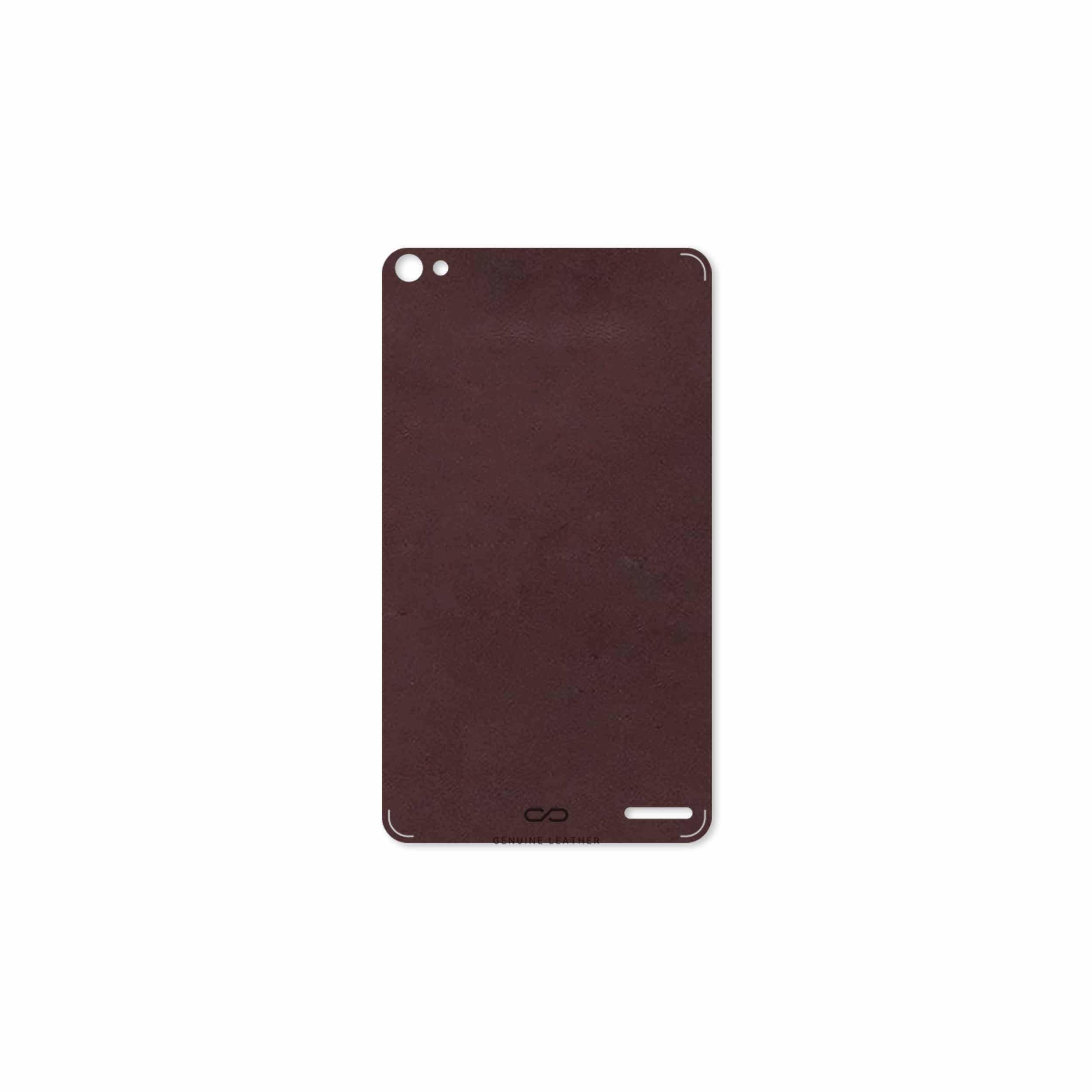 بررسی و خرید [با تخفیف]                                     برچسب پوششی ماهوت مدل Matte-Dark-Brown-Leather مناسب برای تبلت هوآوی Mediapad X2 2015                             اورجینال