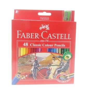 مداد رنگی 48 رنگ فابر کاستل مدل classic 115858