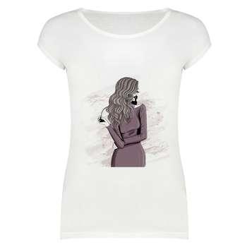 تی شرت زنانه مدل SKH0004_222017