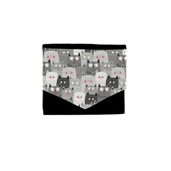 کیف پول صنم طرح گربه مدل پونه کد AP521