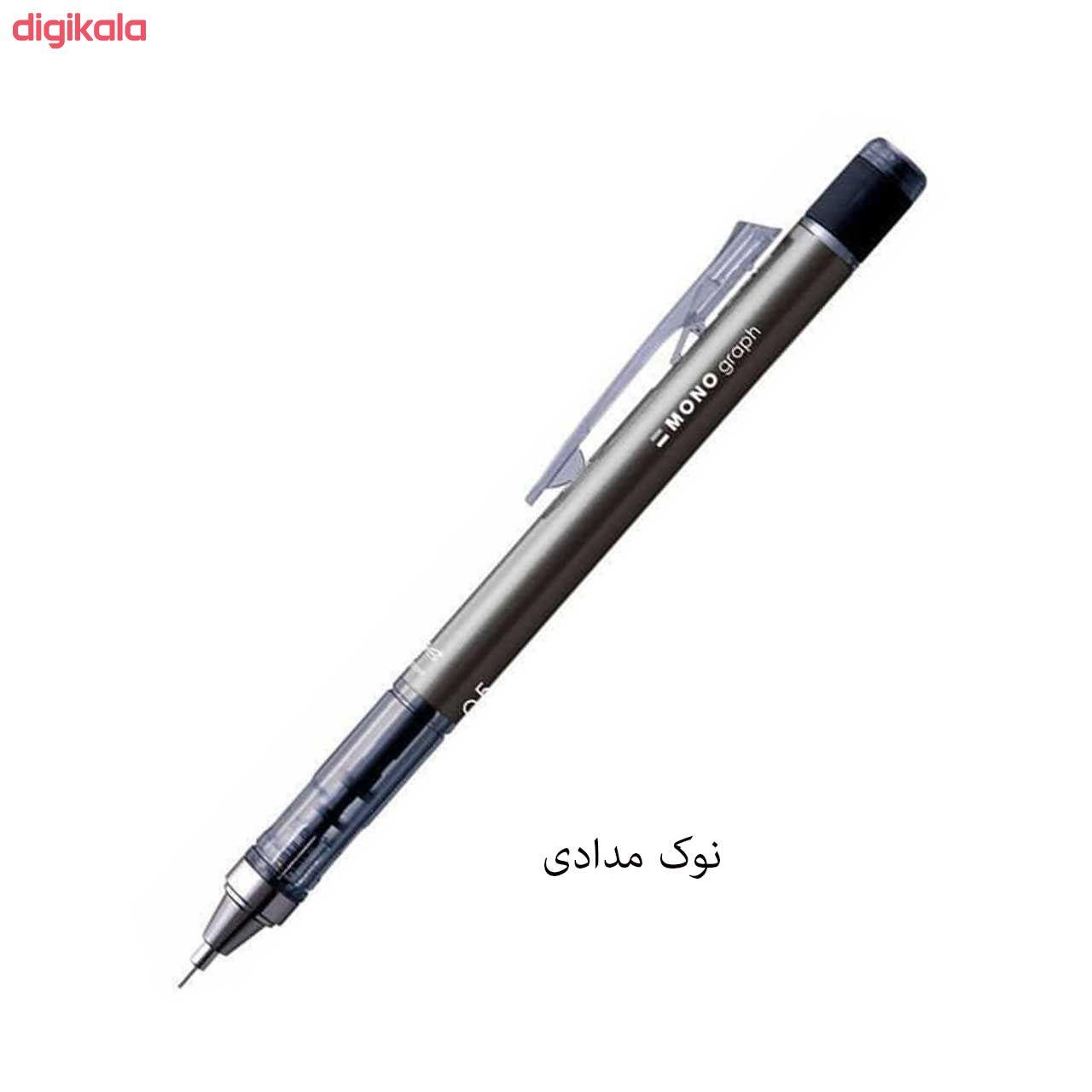 مداد نوکی 0.5 میلی متری تومبو مدل MONO GRAPPH main 1 3