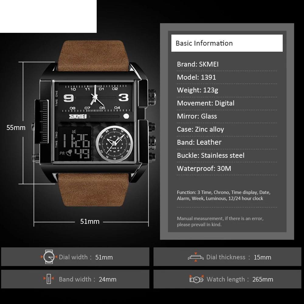 ساعت مچی عقربه ای مردانه اسکمی مدل 91-13 -  - 7
