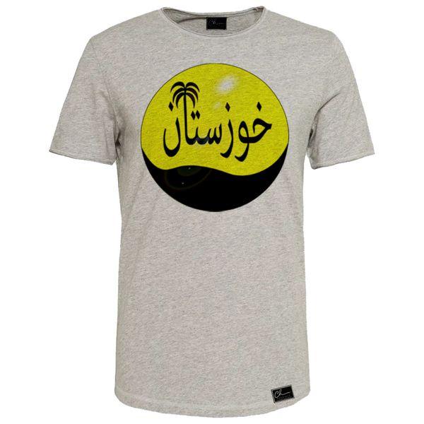 تی شرت زنانه مدل خوزستان کد J16 رنگ طوسی