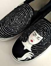 کفش روزمره زنانه دالاوین طرح هزارتو کد V-12 -  - 2