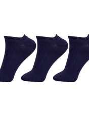 جوراب زنانه مستر جوراب کد BL-MRM 212 بسته 3 عددی -  - 1