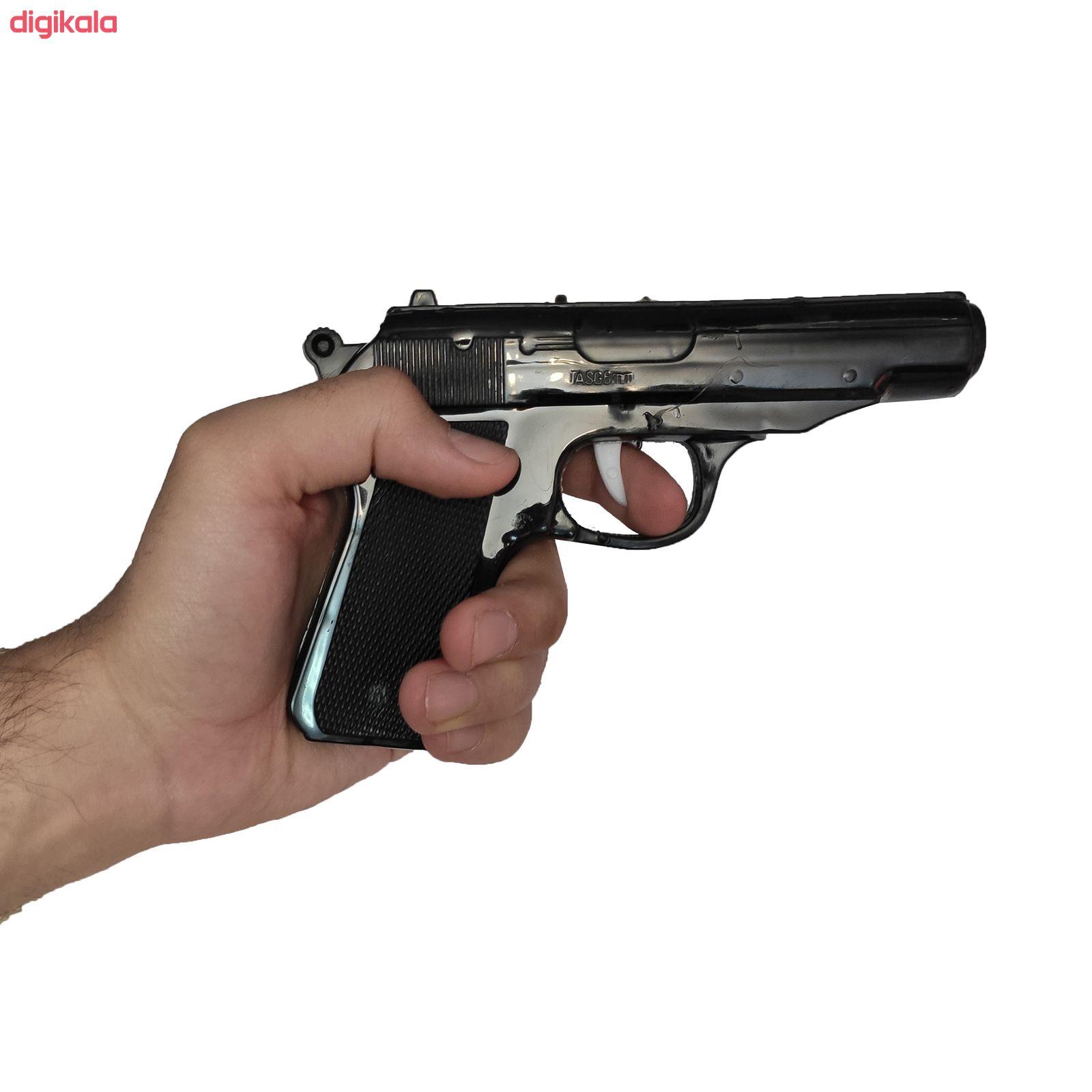 تفنگ بازی مدل پلیس کد p1 مجموعه 11 عددی main 1 9
