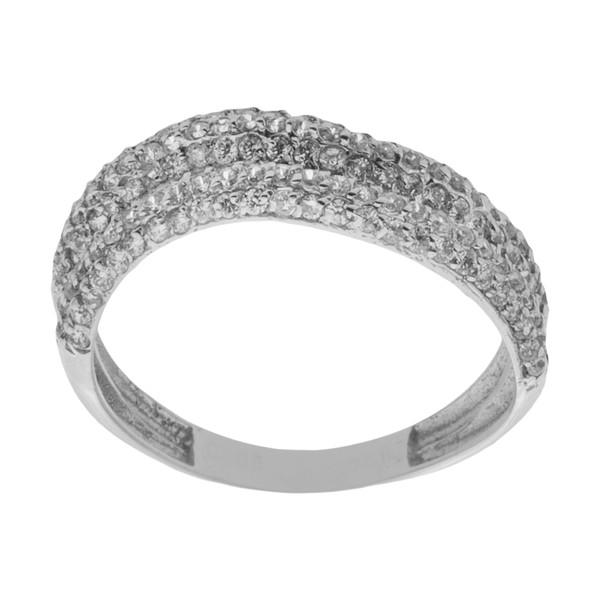 انگشتر طلا 18 عیار زنانه مایا ماهک مدل SR0501